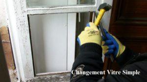 Remplacement vitre Brissée: Vitrier a COMMENY (95450)