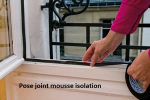 isolation pose de joint